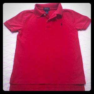 Polo Brand Red Size 6 Shirt ❤️🐎